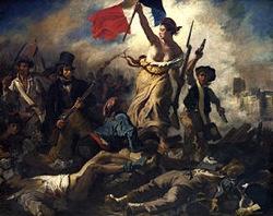 La liberté guidant le peuple (1831), Eugène Delacroix, Musée du Louvre