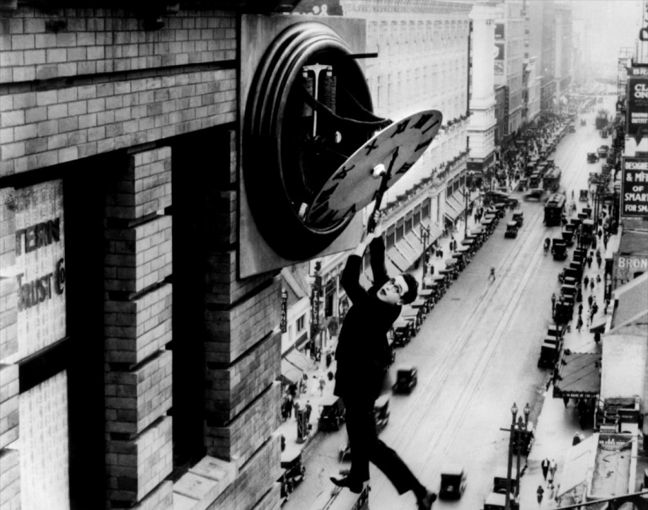 "Harold Lloyd in ""Safety last!"" (1923)"