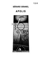 Dessin original d'Alain Lestié, Première de couverture de Apolis de la pensée kantienne, G. Granel