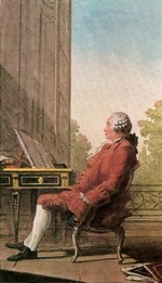 Scottish National Portrait Gallery, Louis Carrogis (Carmontelle) : David Hume 1711-1776