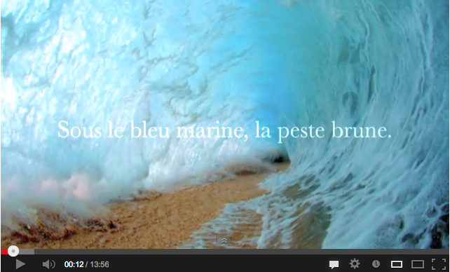 Capture d'écran de la vidéo