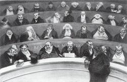 Le ventre législatif, extrait de l'Association mensuelle de janvier 1834